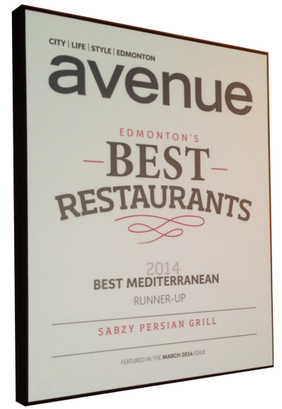Sabzy Persian Grill, Restaurant in Edmonton, AB